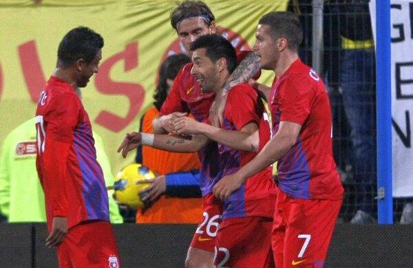 Pîrvulescu a marcat un supergol în meciul cu Astra, cîştigat de Steaua cu 2-1
