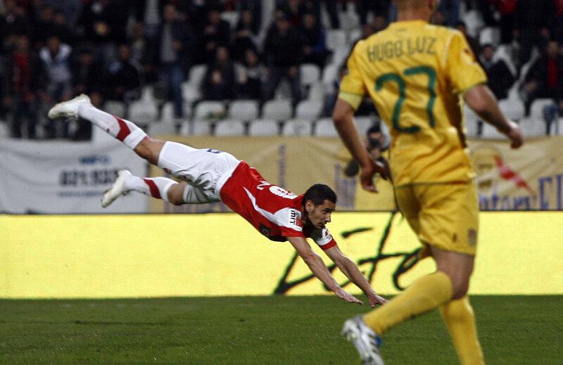 Curtean, imaginea lui Dinamo în retur // Foto: Alex Nicodim