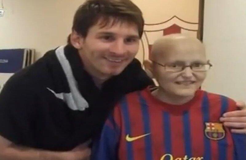 Visul lui Alfonso s-a îndeplinit: l-a întîlnit pe idolul său, Lionel Messi