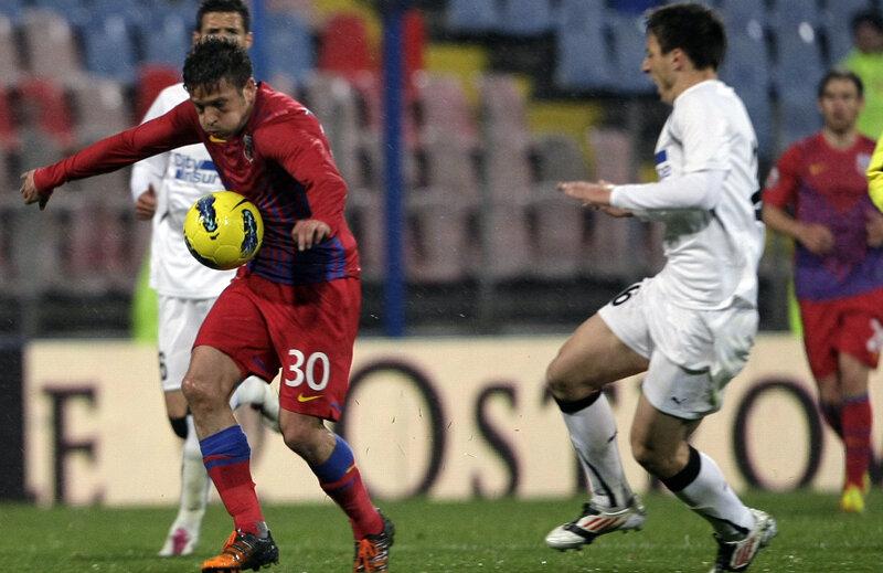 Titularizat, Tibi Bălan a jucat bine şi a deschis scorul // Foto: Raed Krishan