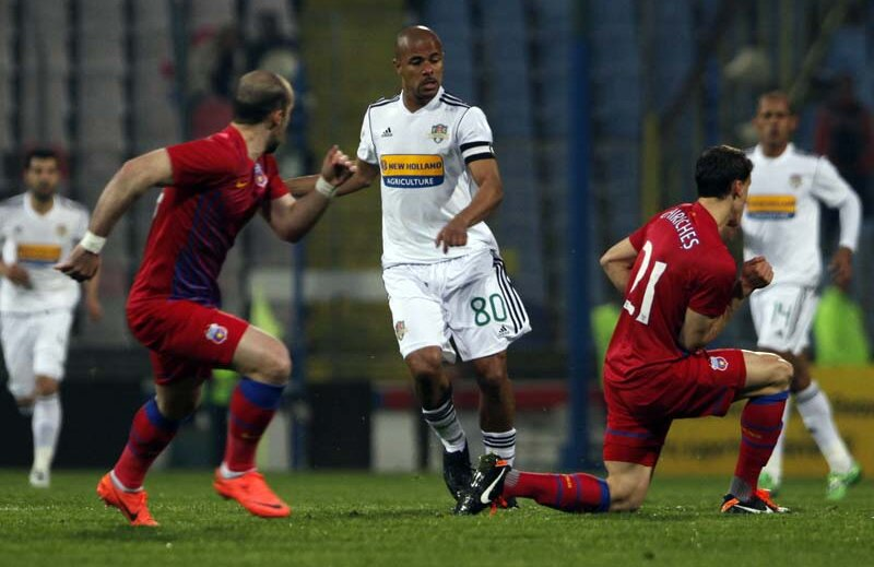 Wesley a marcat singurul gol al meciului dintre Vaslui şi Steaua.