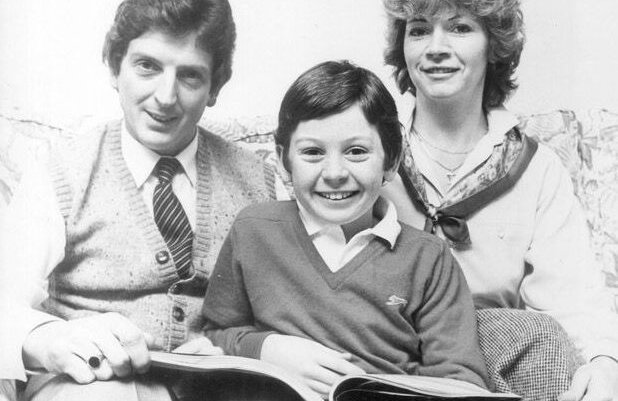Roy Hodgson şi soţia sa, Sheila, într-o fotografie din 1983