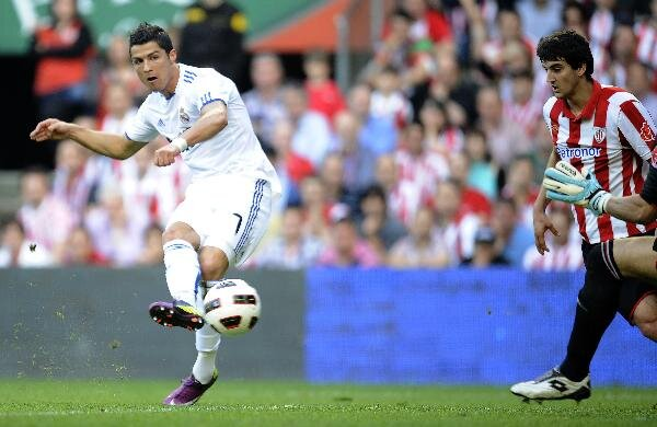 Cristiano Ronaldo a marcat de două ori în turul cîștigat de Real cu 4-1