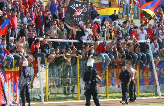 Steaua a fost din nou echipa cu cei mai mulţi spectatori