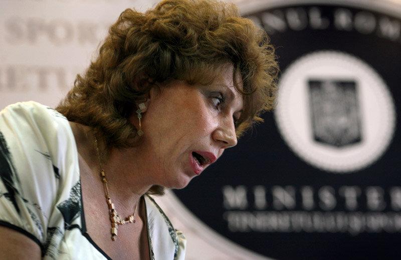Doina Melinte a fost preşedinte ANST pînă la căderea guvernului MRU