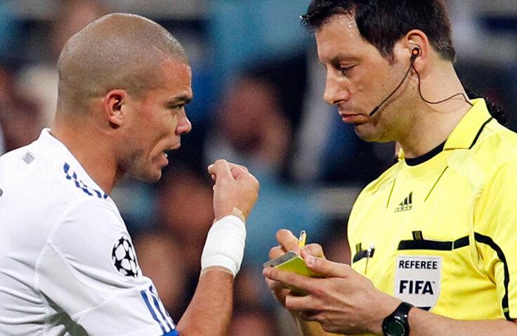 Stark l-a eliminat pe Pepe la meciul din semifinalele Ligii Campionilor, dintre Real şi Barcelona (sursa foto: Reuters)