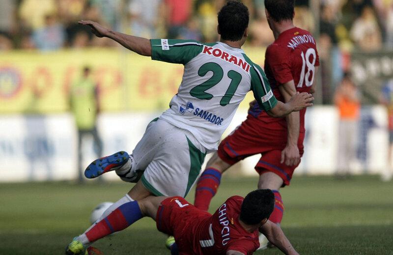 Pentru Chipciu (22 de ani), eliminarea de la Chiajna este prima în cariera lui de fotbalist profesionist // Foto: Raed Krishan