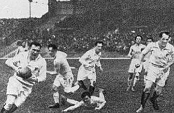 România înfruntînd Franţa la Olimpiada din 1924 Foto: livescience.com