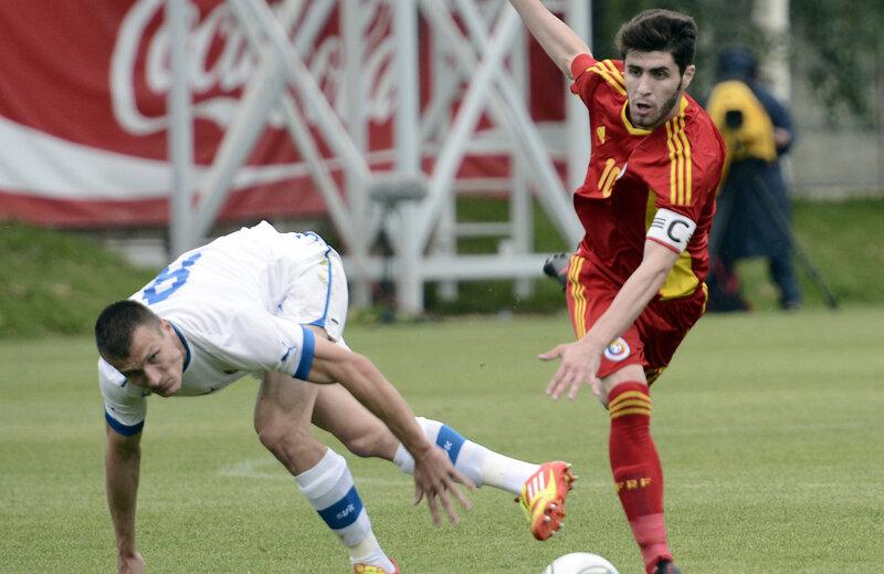 Răduţ (dreapta) a marcat primul gol pentru