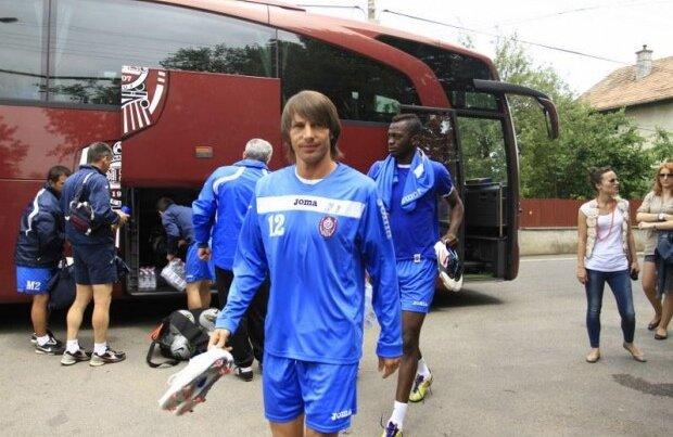Adus de la Schalke, Ciprian Deac e una din cele mai importante afaceri făcute de CFR (foto: ziuadecluj.ro)