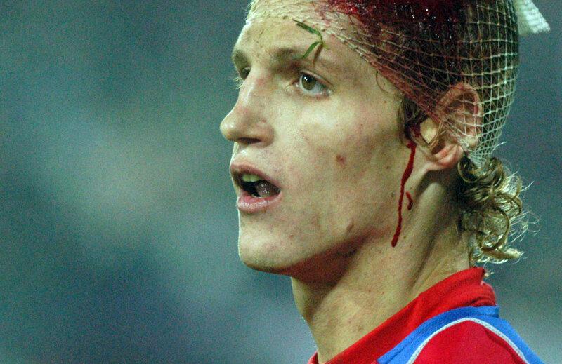 Imaginea luptătorului rămasă după un Poli Timișoara - Steaua (1-1), noiembrie 2004