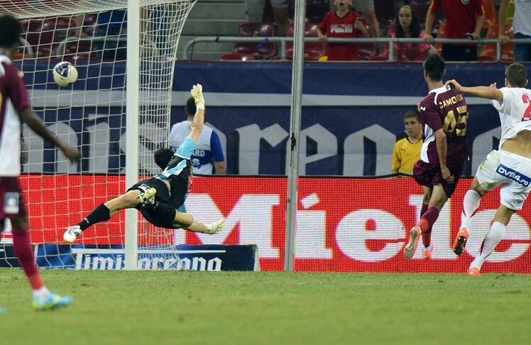Golul doi al lui Țucudean în poarta lui Stăncioiu a semănat leit cu cel marcat de Balotelli în semifinala cu Germania de la Euro 2012