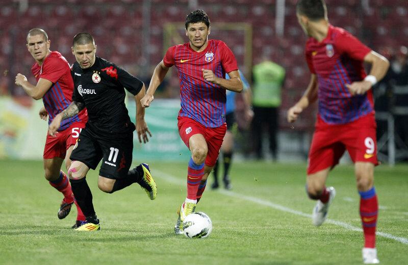 Anul trecut, steliştii au trecut cu 3-1 la general de bulgarii de la ŢSKA Sofia.