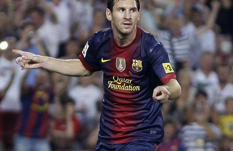 Messi, zeul fotbalului ultimilor cinci ani...  // Foto: Reuters