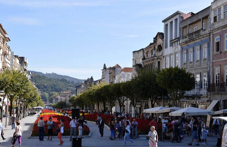Braga a fost numită în 2012 capitala tineretului european.