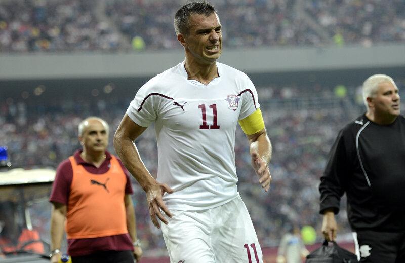 Pancu s-a supărat din cauza golului încasat în ultimul minut al partidei.