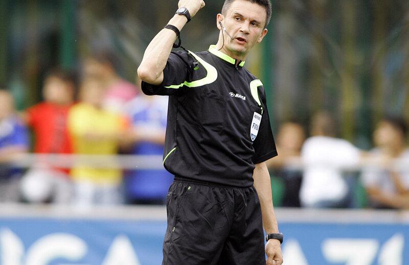 Balaj e acuzat că a distrus meciul CFR-ului cu Pandurii, scor 1-2