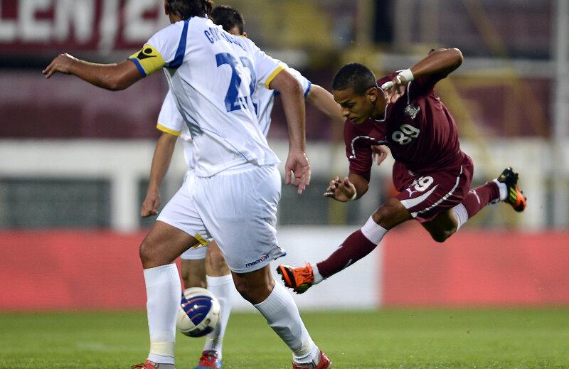 Renan Silva a fost jucătorul meciului, el reuşind o triplă de efect