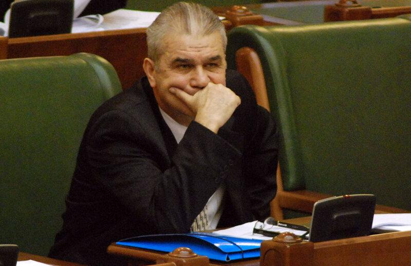 Iordănescu a rostit doar 214 cuvinte în plenul Senatului.