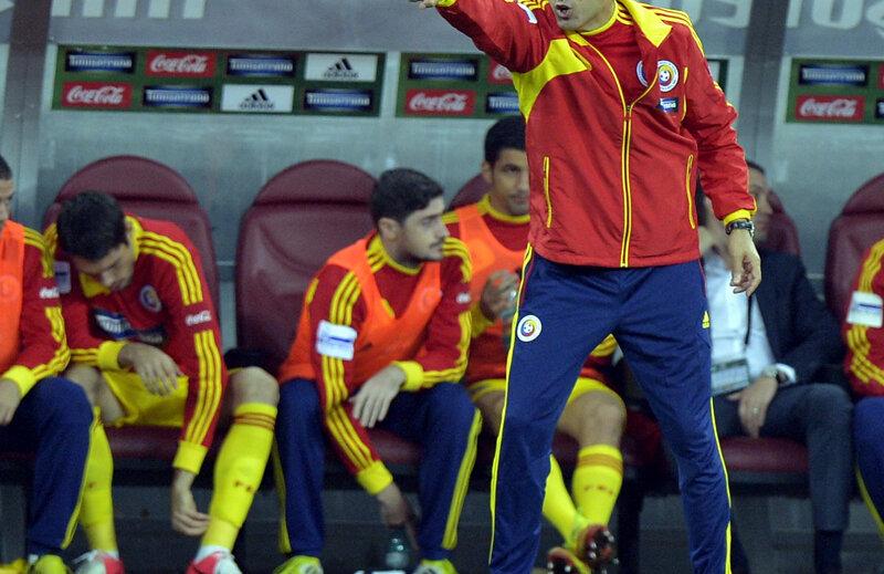 Piţurcă a trăit la intensitate maximă meciul cu Olanda.