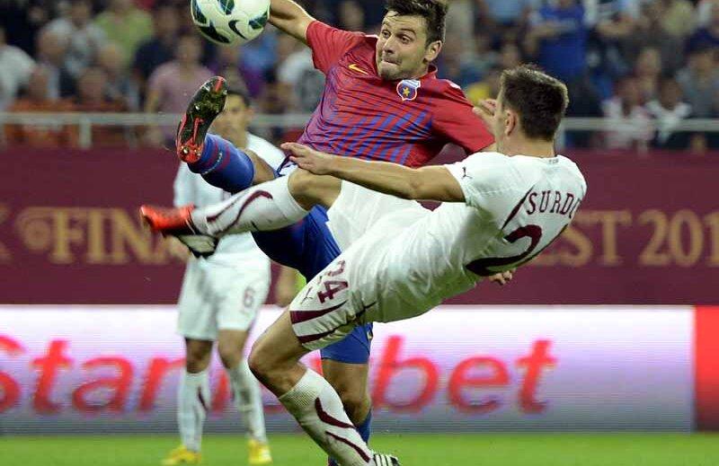 Rusescu și ai lui i-au presat pe rapidiști mai ales în repriza a doua și au dat golul victoriei în ultima fază a meciului
