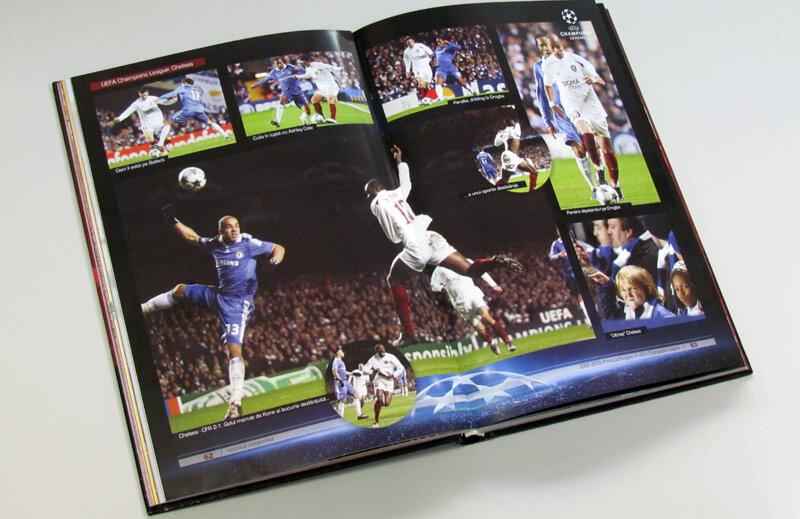 Prezentare grafică de excepţie pentru duelul cu Chelsea din Liga Campionilor.