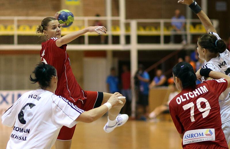 Interul dreapta Katarina Bulatovici a înscris 10 goluri în meciul cu Hypo Viena.