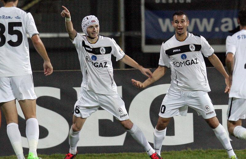 Astafei a marcat unicul gol al partidei, din penalty