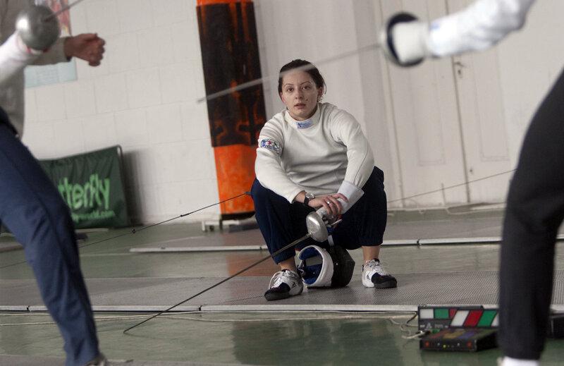 Ana Maria Brînză se întoarce luni în sala de antrenamente, după o pauză de aproape trei luni // Foto: Raed Krishan