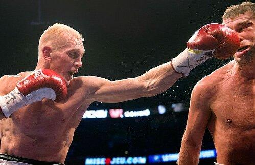 Grachev spune că merita victoria în faţa lui Bute Foto: AP
