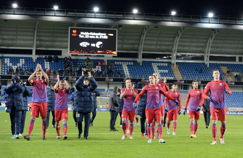 Steliştii răsuflă uşuraţi după ce au reuşit să se impună şi în meciul din deplasare cu Molde.