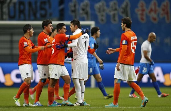 Monterrey a sărbătorit calificarea în semifinale Foto: Reuteres
