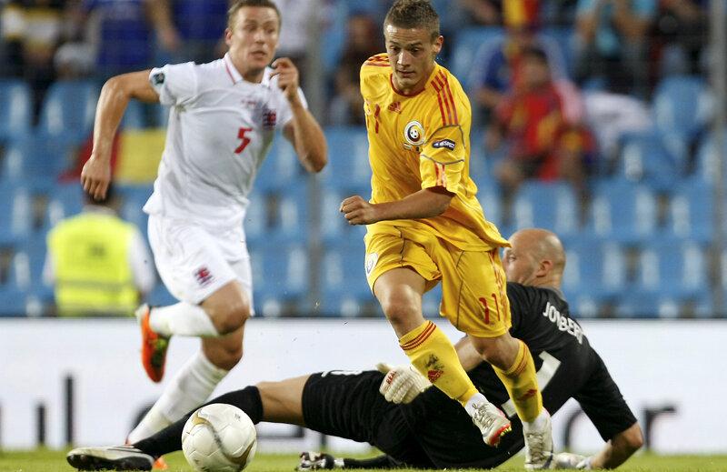 Deşi extremă dreapta, Torje a marcat pentru România de patru ori în 2012 şi o dată în 2013