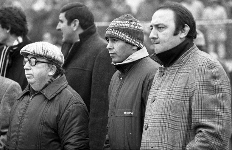 Ianul, alături de cel care a creat marele Dinamo de la sfîrșitul anilor '90, Mircea Lucescu // Foto: Arhiva GSP
