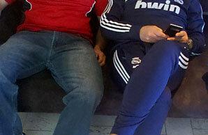 Abel Rodriguez și Jose Mourinho. Foto: Arhiva personală