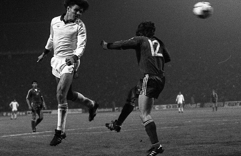 Ţălnar (foto) şi Mulţescu au reuşit să se califice cu Dinamo în semifinalele CCE, în 1983,