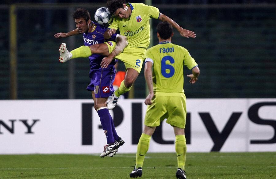 Steaua n-a mai simţit gustul meciurilor din Liga Campionilor de pe 10 decembrie 2008, de la meciul cu Fiorentina lui Adi Mutu, 0-1