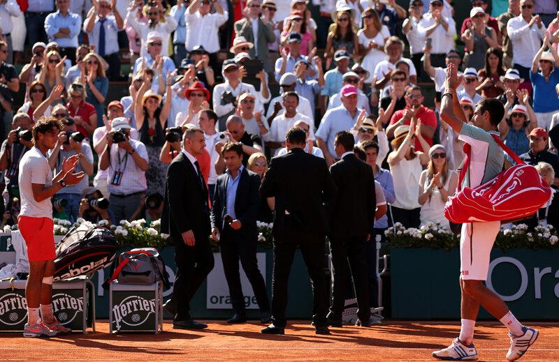 Nadal l-a aplaudat pe Djokovici, iar publicul pe amîndoi pentru un meci senzațional