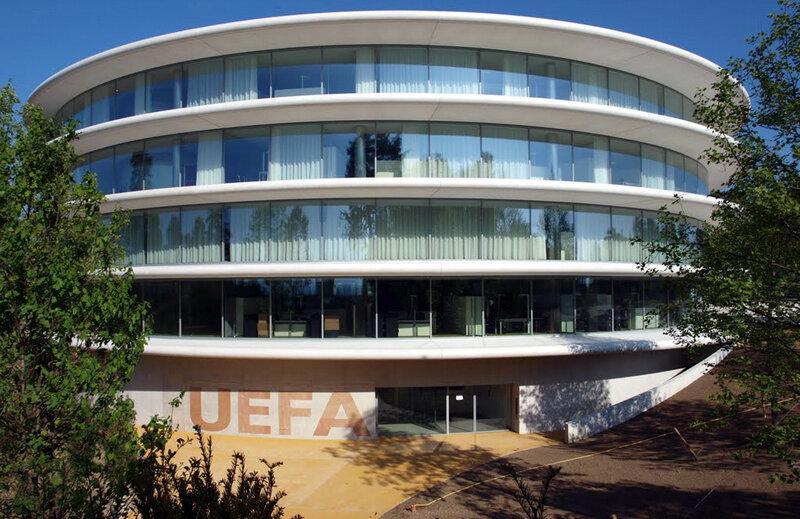Acesta e sediul UEFA, de unde Steaua aşteaptă o veste bună pe 24 iunie