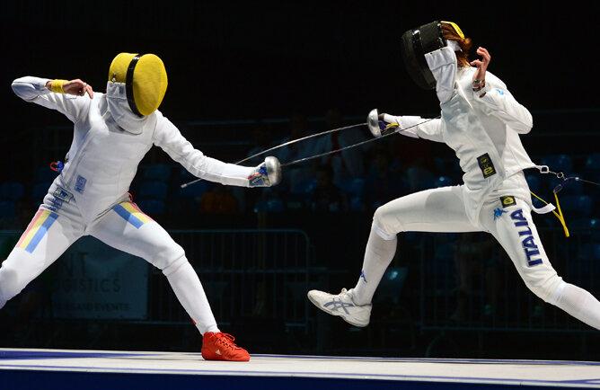 În finala pentru aur, Ana a fost cea mai agilă // Foto: MediafaxFoto