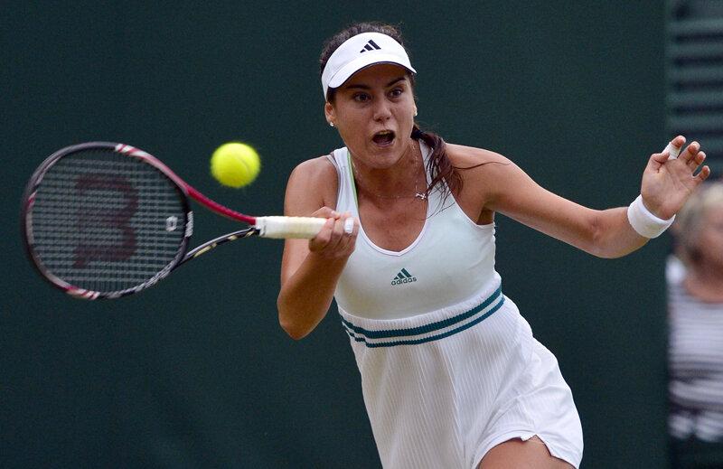 Sorana Cîrstea şi-a folosit ieri foarte bine experienţa pozitivă din meciurile precedente cu Stefanie Voegele // Foto: Reuters