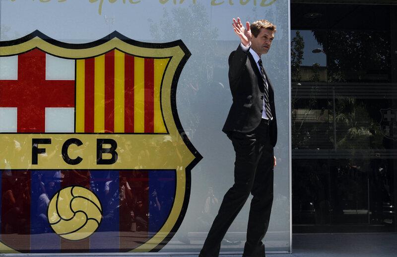 Tito Vilanova a fost antrenorul Barcelonei timp de un an.
