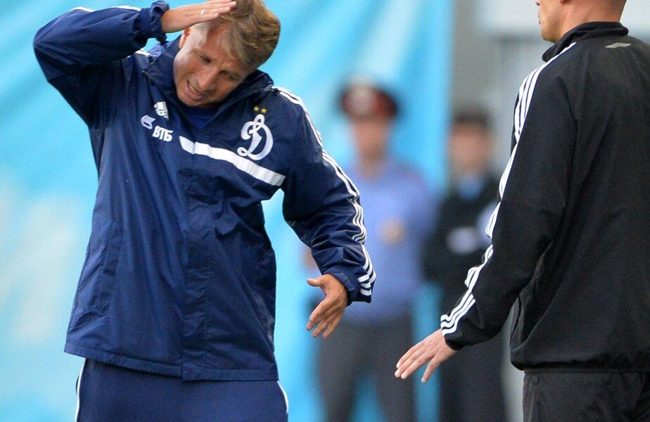 Dan Petrescu are 4 puncte în 3 etape: 2-2 cu Volga, 2-1 cu Anji, 1-4 cu Spartak // Foto:  Guliver/GettyImages