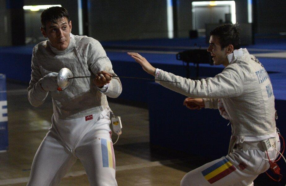 Iulian Teodosiu şi Alin Badea se cunosc înainte de a deveni colegi la echipa de sabie a României