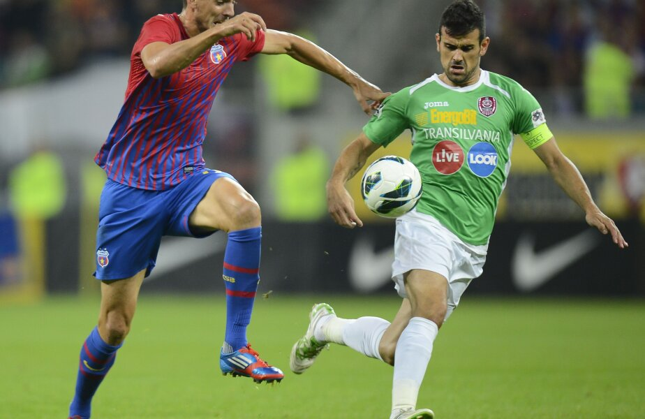Cadu nu va lipsi de la meciul cu Steaua