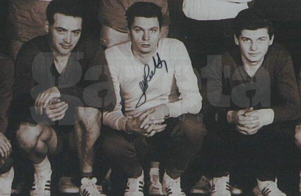 Michael Ridl (în centru), alături de Ioan Ţipu şi Ion Bogolea