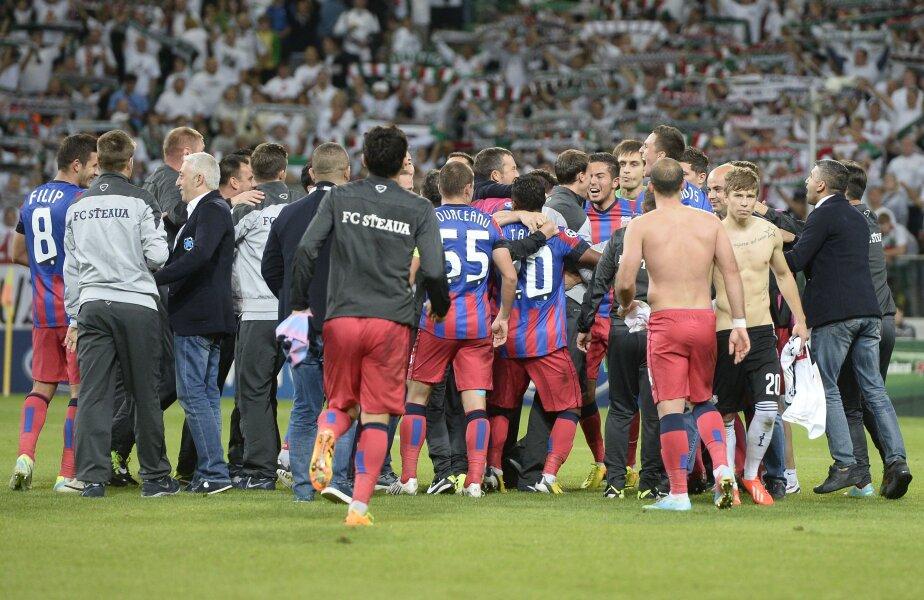 Calificată din nou în grupe, Steaua își așteaptă adversarii