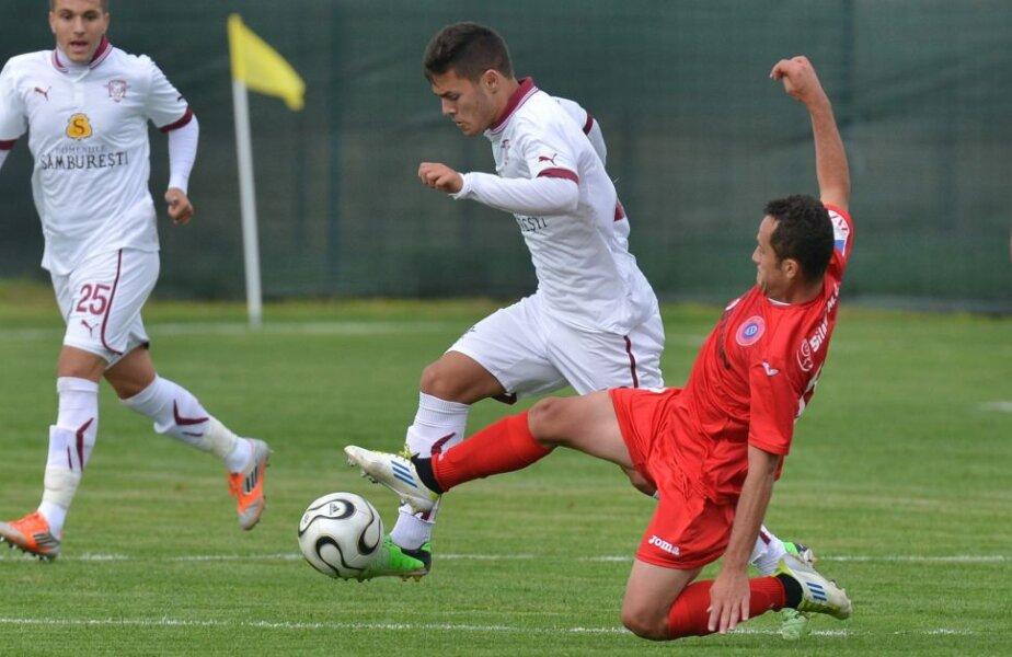 Alex Ioniță a marcat pentru a doua etapă la rînd // Foto: Bogdan Bălaș (Brașov)
