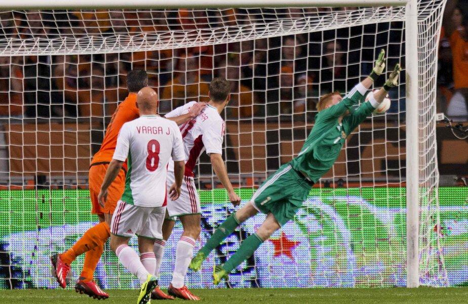 Golul lui Van Persie Foto: Reuters