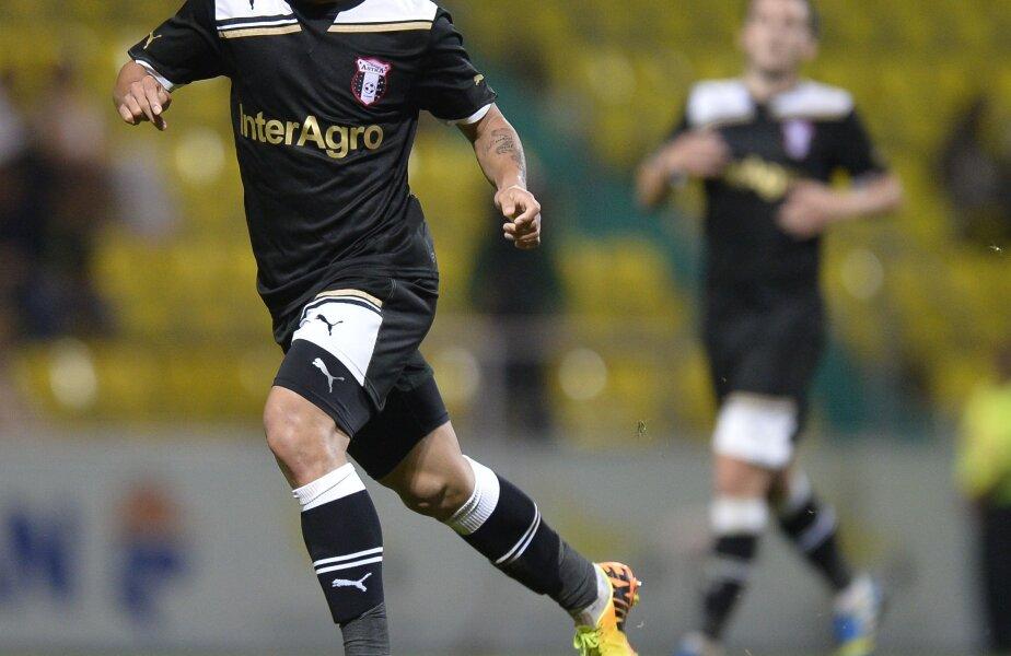 Junior Morais a înscris aseară al doilea său gol al sezonului